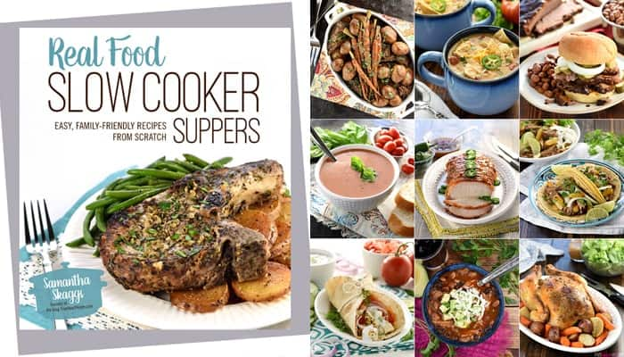Real Food Slow Cooker Suppers Cookbook