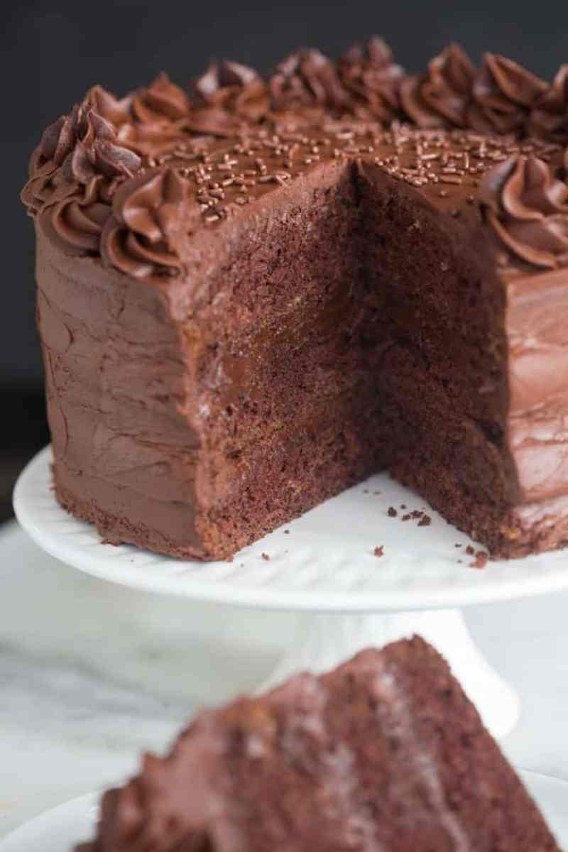 Dark Chocolate Cake | Tastes Better From Scratch