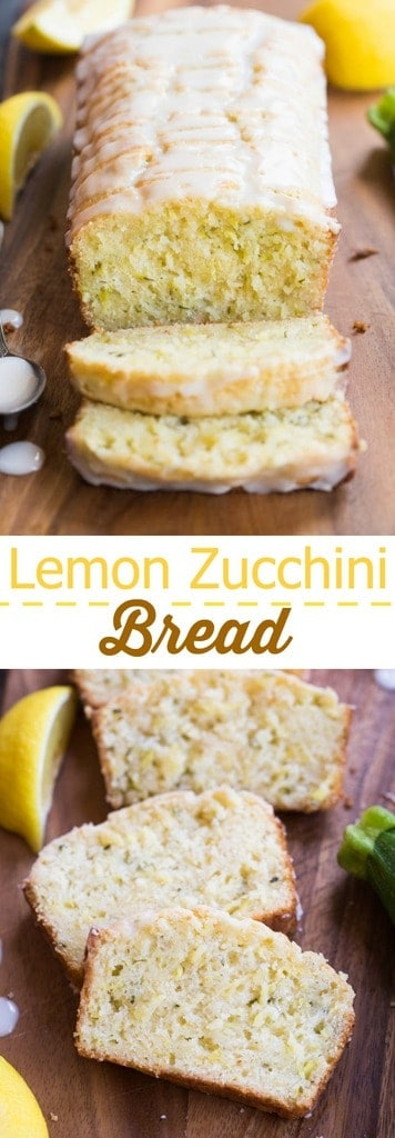 Lemon Zucchini Bread is one of our favorite quick bread recipes during the summer months! This super flavorful and moist bread tastes great for dessert, as a snack, or even for breakfast or brunch.
