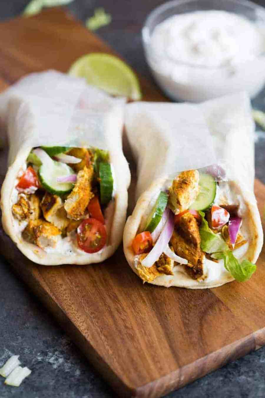 Chicken Gyros | tastesbetterfromscratch.com