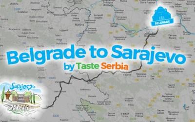 [INFOGRAPHIC] Belgrade to Sarajevo Food Tour