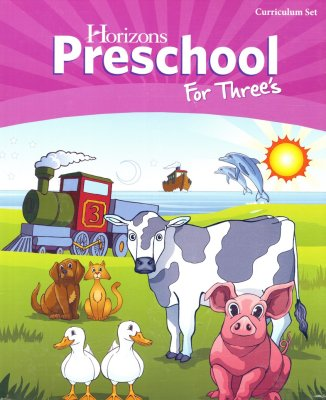 Horizons preschool curriculum for threes
