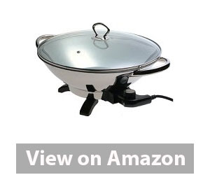 Presto Stainless-Steel Electric Wok Review
