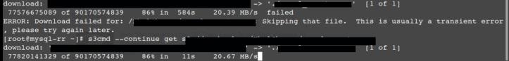 s3cmd install Ubuntu 18.04 and s3cmd install CentOS 7