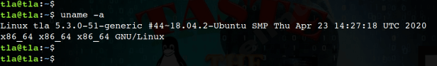 uname command in Linux with options