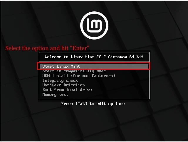 install linux mint 20.2