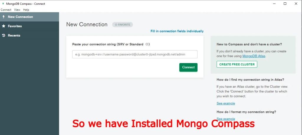 Install MongoDB Windows