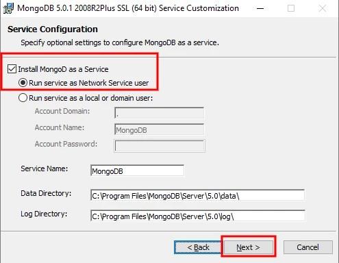 MongoDB Windows 10