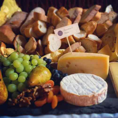 Cheese at a different kind of wedding.