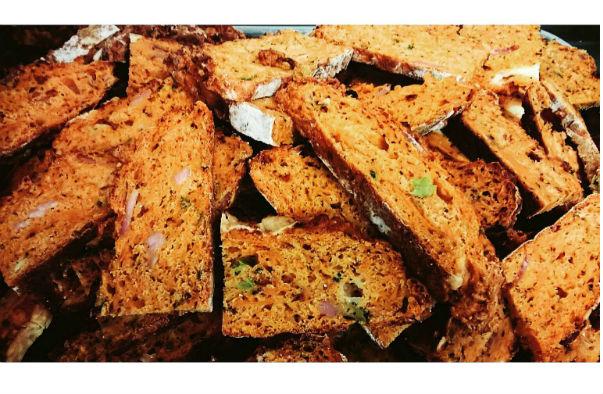 Bacon and Sweet Potato Bread
