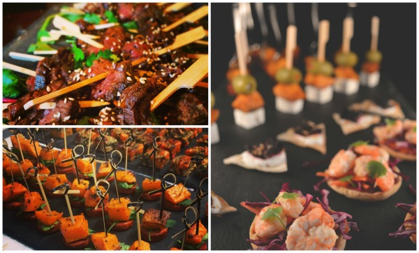 summer canape selection