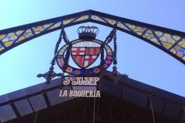 La Boqueria. Marked i Barcelona, Spanien