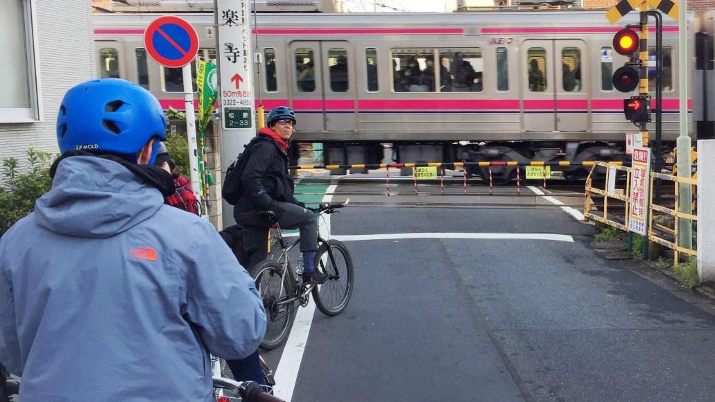 jernbane cykeltur tokyo