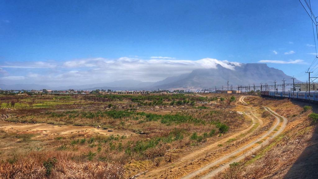 Toget ankommer til Cape Town