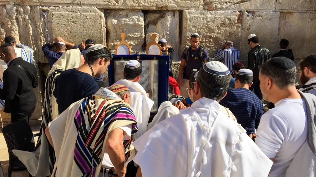 Grædemuren, Jerusalem. (C) Per Sommer