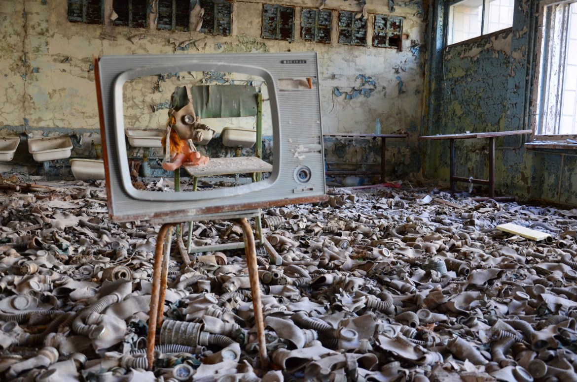 Tjernobyl, Ukraine, podcast, Taste the World. Fotograf: Michael Kragelund