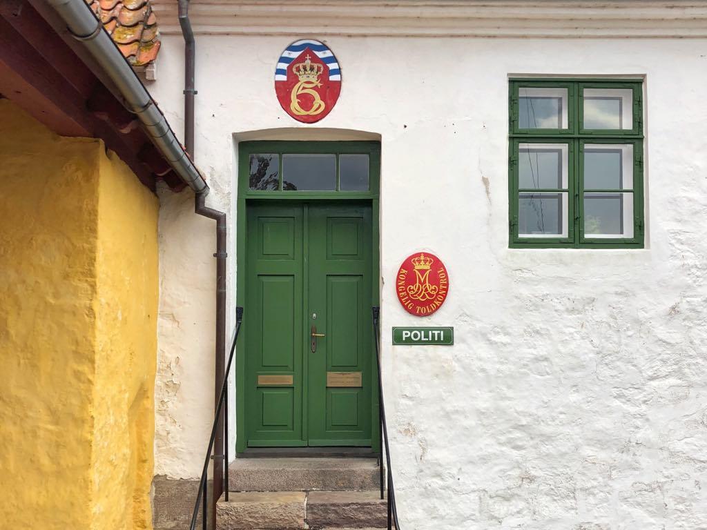 Overnat på Christiansø - Politstationen Christiansø