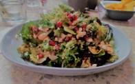 Feta and pomegranite salad