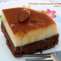 chocolate caramel pudding cake