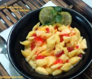 Macaroni fruit salad
