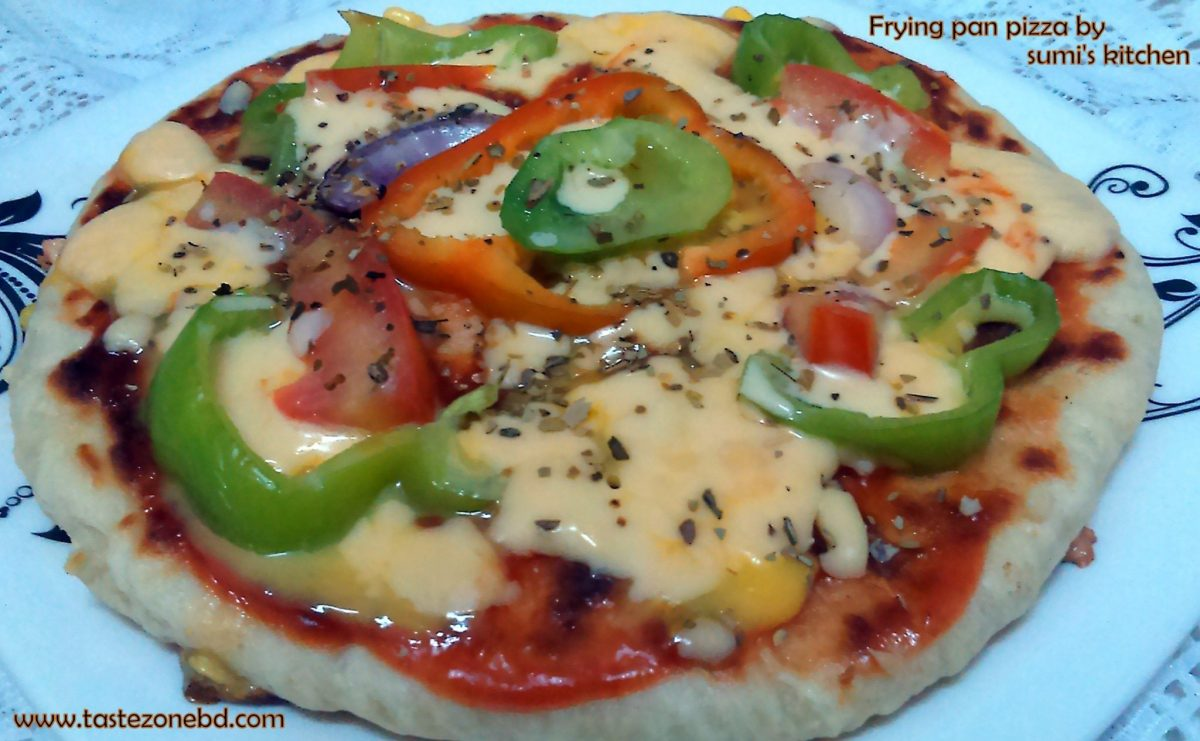Frying pan pizza