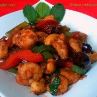 Prawn cashew nut salad