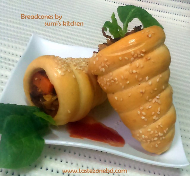 Bread cones