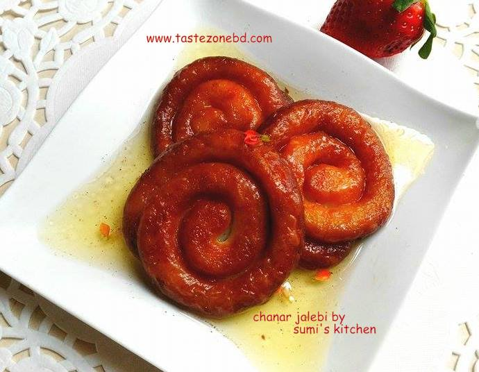 Chanar jalebi(ছানার জেলাপি)
