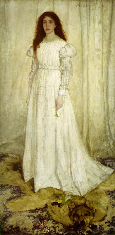 Symphony in White No. 1: The White Girl by James Whistler
