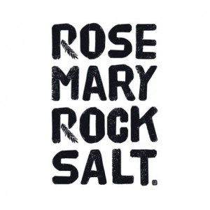 rosemary rock salt