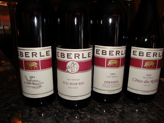 Eberle Wines – New to Arkansas