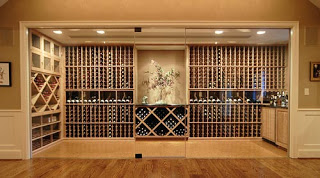 Luxurious Wine Storage