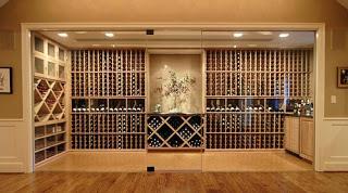 Luxurious Wine Storage
