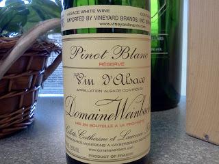 Picky About Pinot Blanc