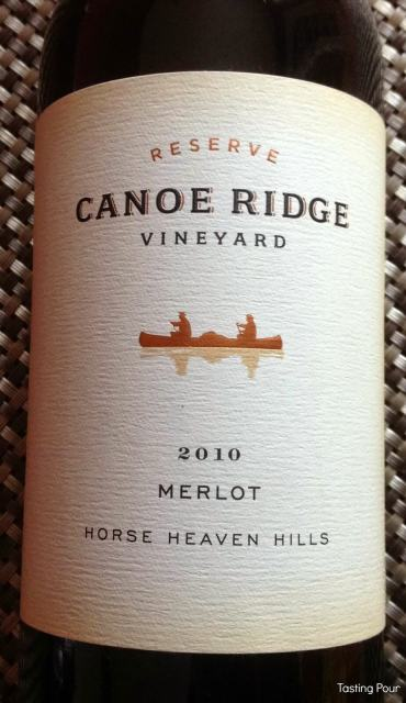 Chateau Ste Michelle Horse Heaven Hills Merlot from Canoe Ridge Vineyards