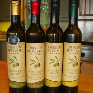 Olive Oil Tasting at Oregon Olive Mill at Red Ridge Farms