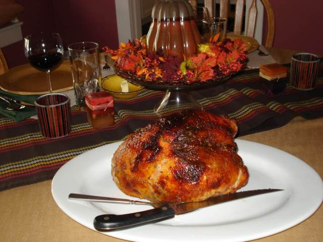 Thanksgiving Turkey and Willamette Valley Pinot Noir