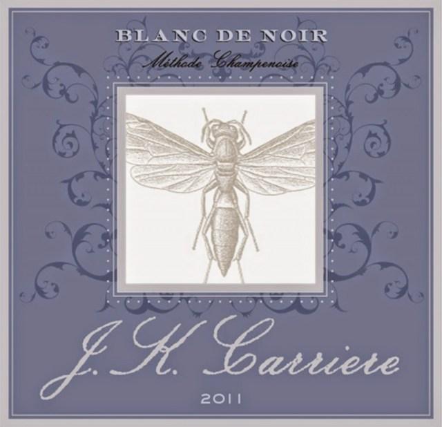 2011 Blanc de Noir from JK Carrier Oregon sparkling wine