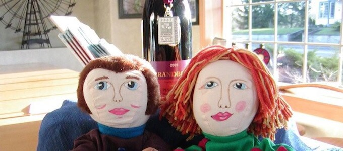 Brandborg Winery Love Puppets