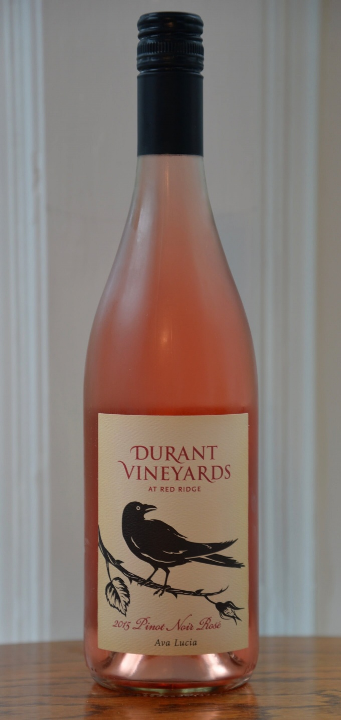Durant Vineyards Rose of Pinot Noir 2015