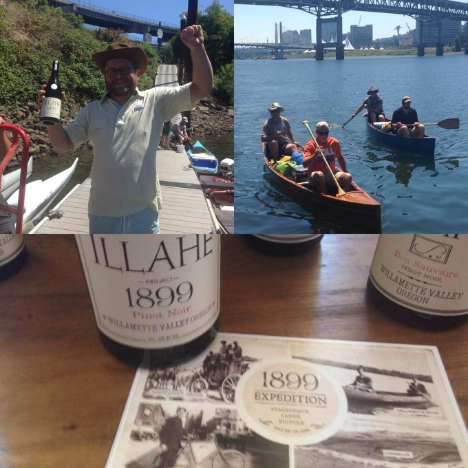 Ilahe Vineyards 1899 Expedition Pinot Noir Collage