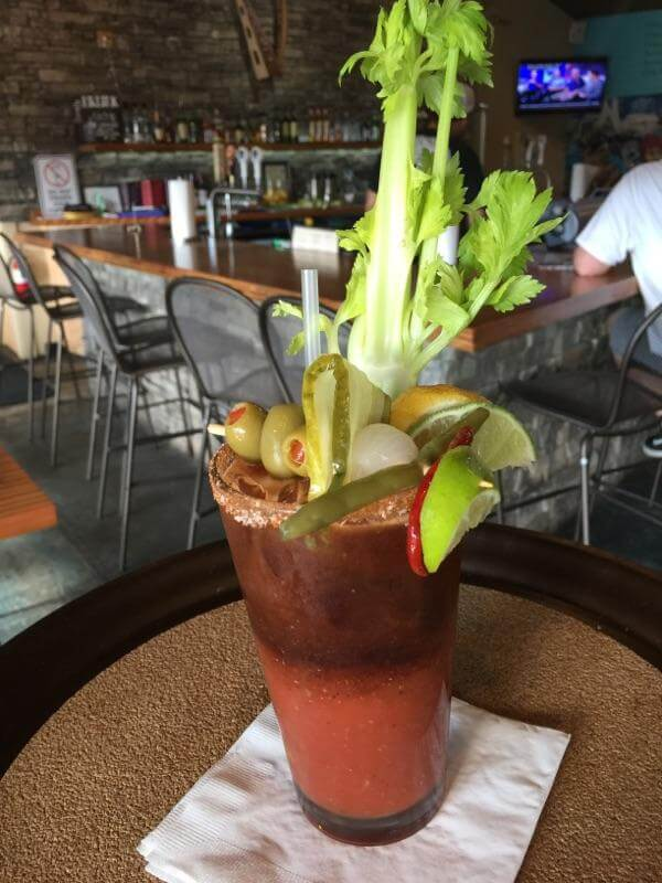 Bloody Mary from Fat Irish Pub and Kitchen