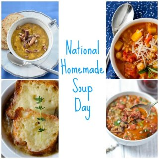 6 Must Make Soups for National Homemade Soup Day