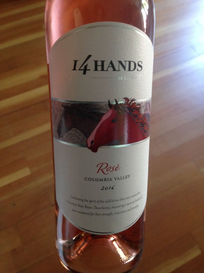 14 Hands 2016 Rose Columbia Valley