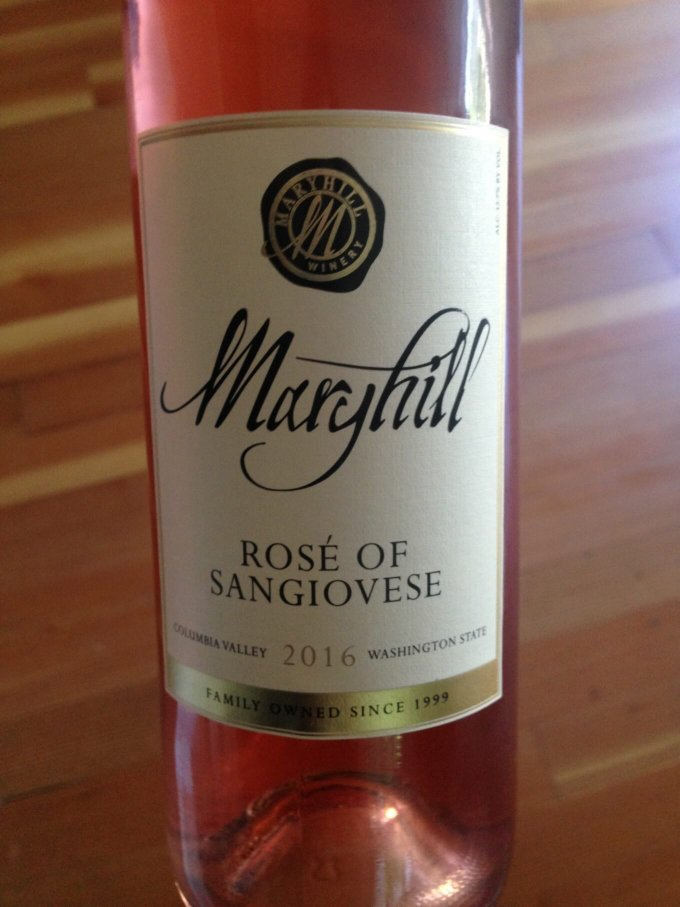 Maryhill Rose of Sangiovese 2016