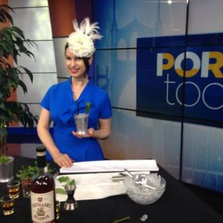 Oregon Bourbon and Mint Juleps