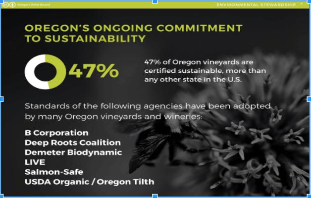 Oregon's Sustainable Vineyards