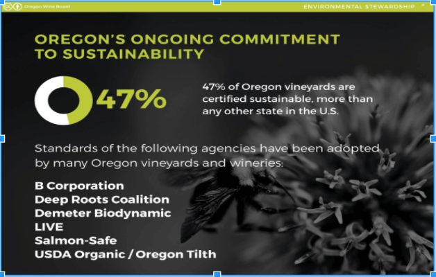 Oregon's Sustainable Vineyards