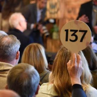 Wine Auctions and Horse Races
