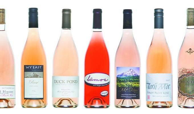 Oregon Rose Wine